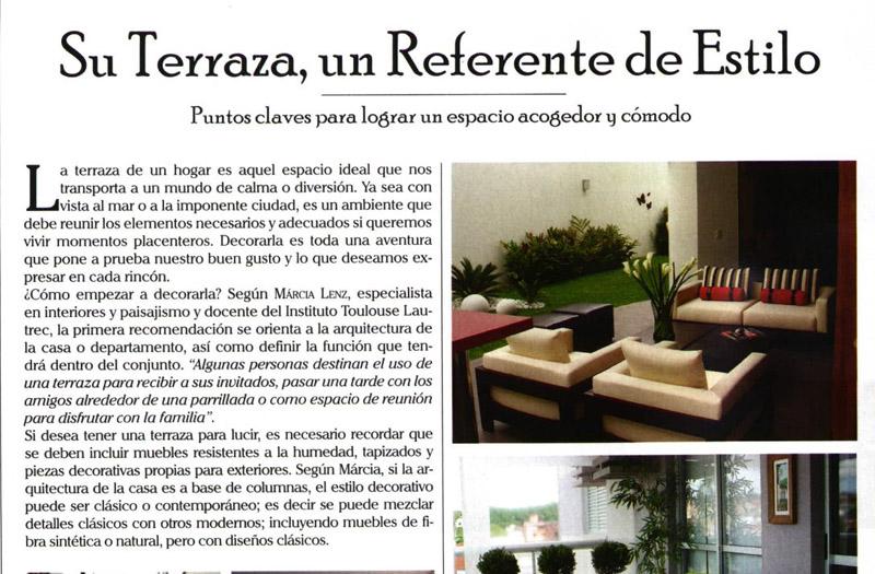 Revista LUHHO -  Articulo de Agosto 2010- Lima, Peru